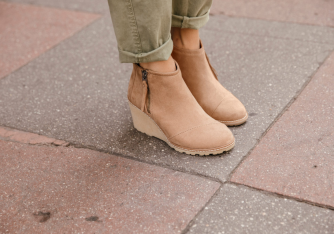 Avera Toffee Booties | $100