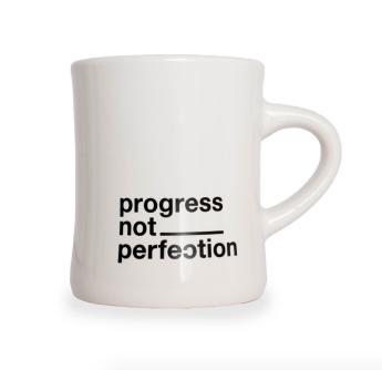 Progress Not Perfection Mug | $17