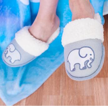 Elephant Slippers | $25
